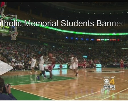 Catholic Memorial Students Banned From Semifinal Basketball Game At TD Garden