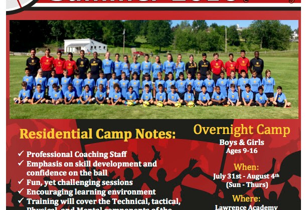 Valeo FC Elite Residential OVERNIGHT Camp