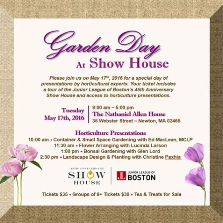Garden Day at Show House