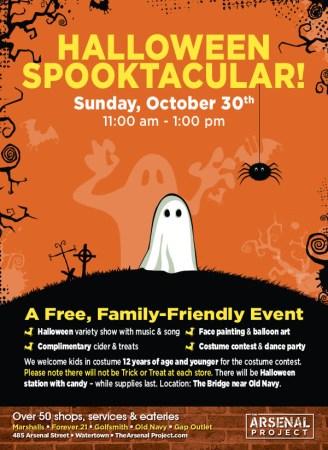 Arsenal Project Halloween Spooktacular