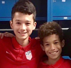 2 Boys from Valeo FC Make National Team Camp