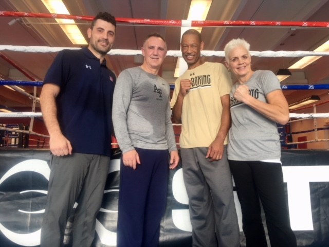 Coaching Olympic Boxers at Olympic Training Center, Elite Girls Boxing