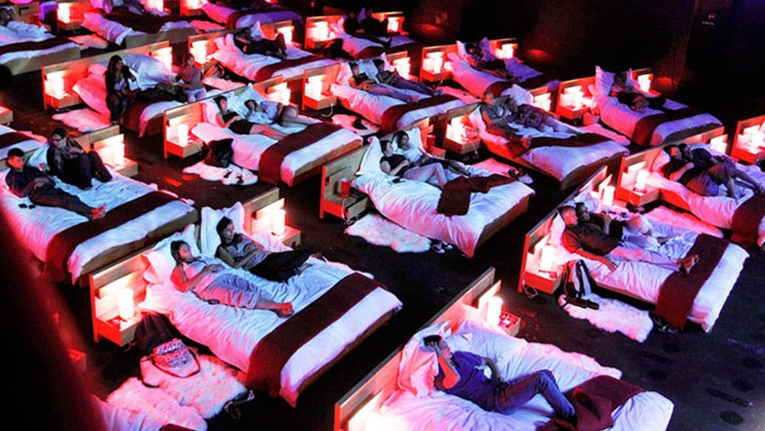 bed cinema
