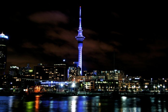 LightWorks SkyTower Auckland