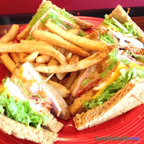 TGI Friday's Chicken Fingers and Club Sandwich Review