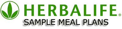Herbalife Meal Plan Sample for Men and Women