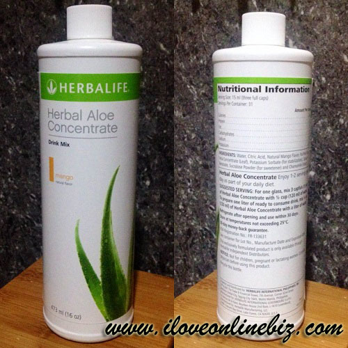 Herbalife Herbal Aloe Concentrate Review