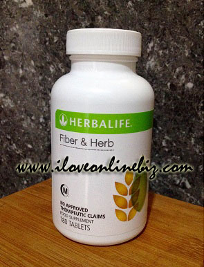 Herbalife Fiber and Herb Tablet Review