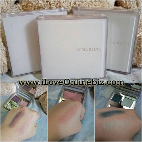 Nina Ricci Eyeshadow and Cheek Powder Review