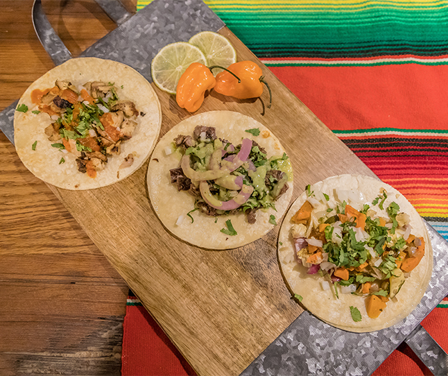 Try the best tacos in town