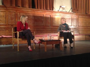 SUE MacGREGOR INTERVIEWING BRIDGET JONES AUTHOR HELEN FIELDING