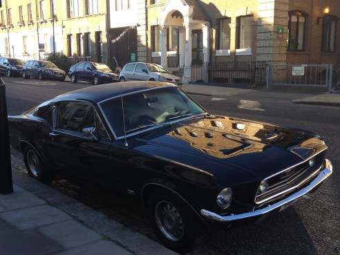MUSTANG, FITZROY ROAD.   © 2013 iLovePrimroseHill, all rights reserved.