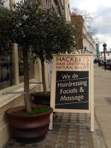 HAIRDRESSING, FACIALS AND MASSAGE