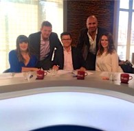 MARC SHARING THE MESSAGE WITH PRIMROSE HILL'S MATTHEW WRIGHT ON HIS CHANNEL 5 SHOW, 'THE WRIGHT STUFF.'