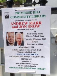 ANDREW MARR AND JON SNOW