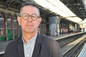 LOCAL AUTHOR, JOURNALIST AND RAILWAY ENTHUSIAST MICHAEL WILLIAMS