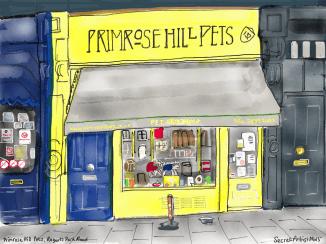 PRIMROSE HILL PETS BY THE SECRET ARTIST
