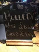 MULLED WINE AT THE PRINCESS