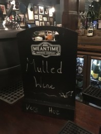 MULLED WINE AT THE ENGINEER