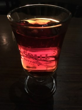 MULLED CIDER AT THE QUEENS