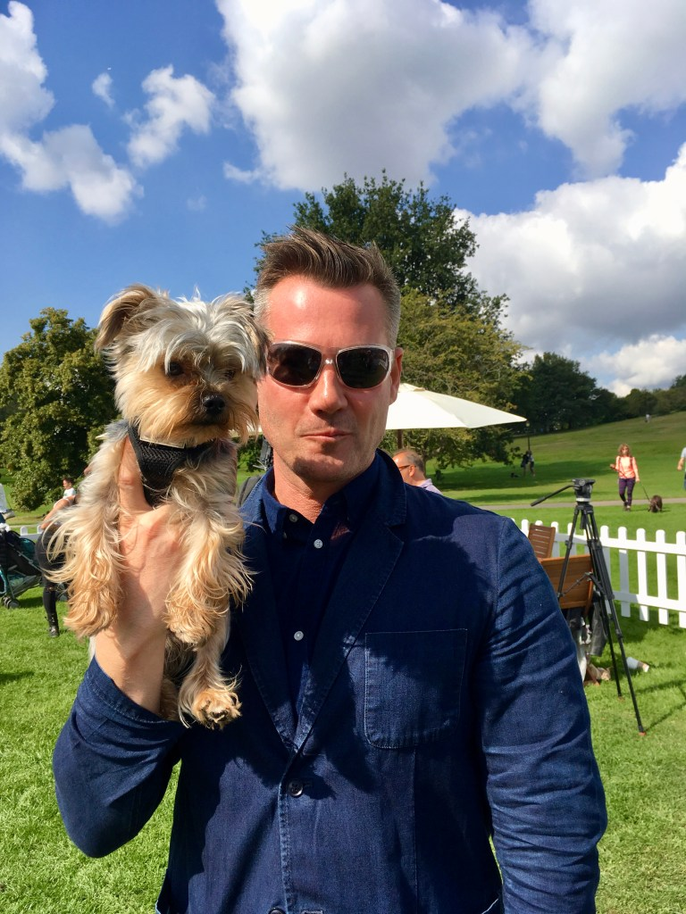 TIM VINCENT WITH MONTY