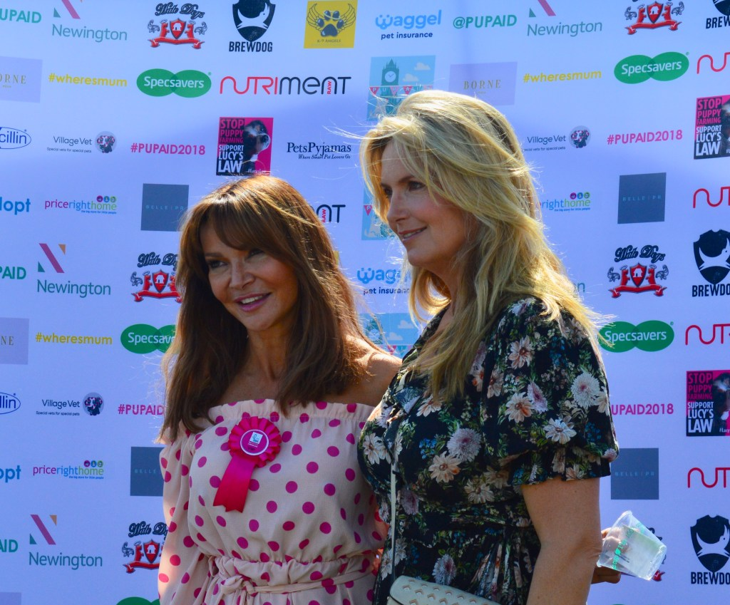 LIZZIE CUNDY AND PENNY LANCASTER