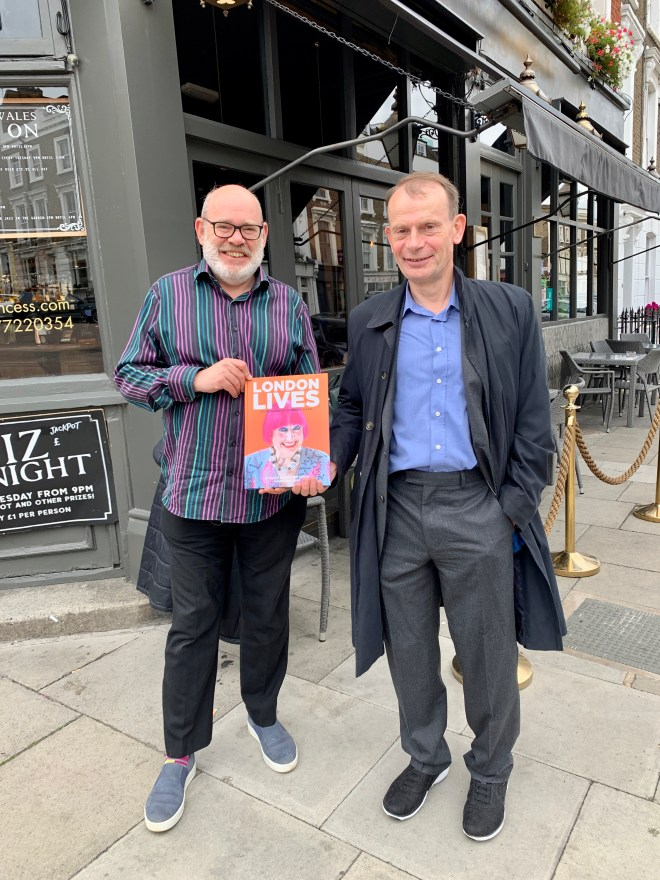 DANNY ROSENBAUM WITH ANDREW MARR, WHO WROTE THE FOREWORD