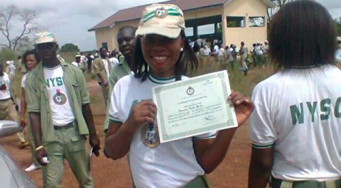 NYSC Batch A Passing Out Parade