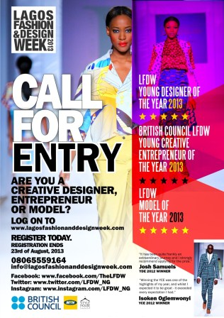 Lagos Fashion and Design Week 2013