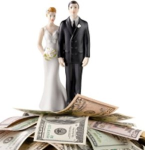 Money; A key marriage wreck