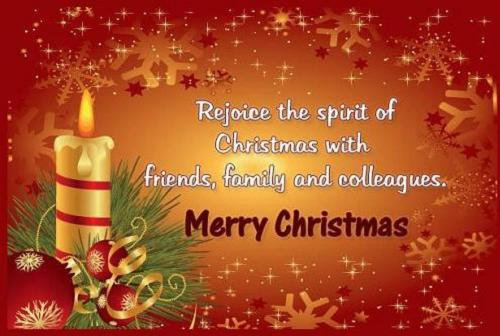 Christmas Messages to Friends and Families