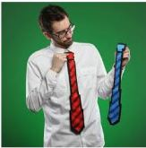 Top 5 Mistakes Men Make When Wearing Plain Color Ties