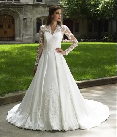 wedding gown trends