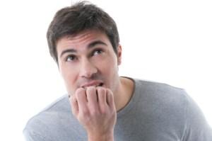 your nail biting habit
