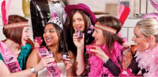 fun Hens party