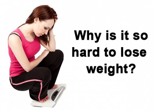 difficult to lose weight