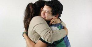 hugs ladies give