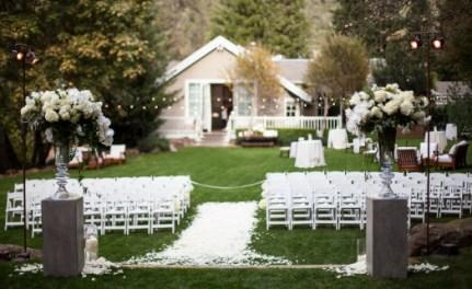 Backyard Wedding Elegant
