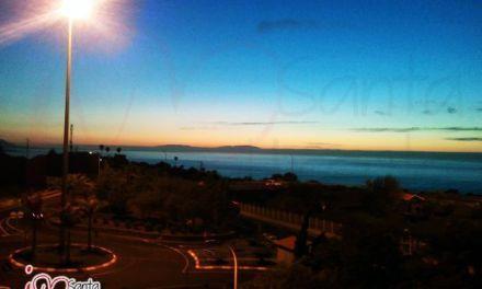 Atardecer con vistas de La Palma