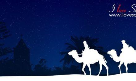 Los Reyes Magos llegan a Santa Úrsula