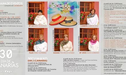 Festividad del día de Canarias en Santa Úrsula