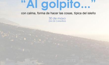 «Al golpíto» Léxico Canario