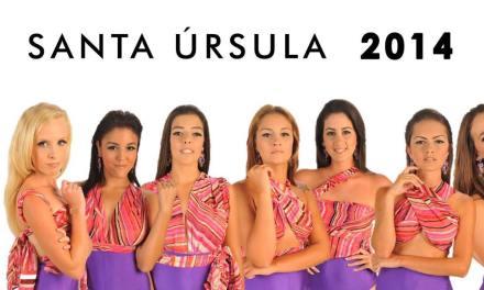 Candidatas a Reina de las Fiestas de Santa Úrsula 2014