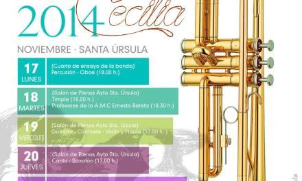 Concierto Santa Cecilia en Santa Úrsula