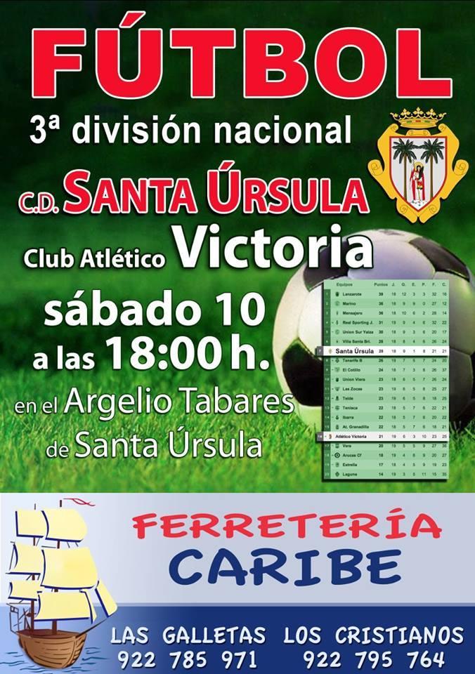 CD Santa Úrsula Vs Victoria