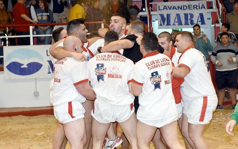 Club de lucha Tijarafe Guanche Campeón