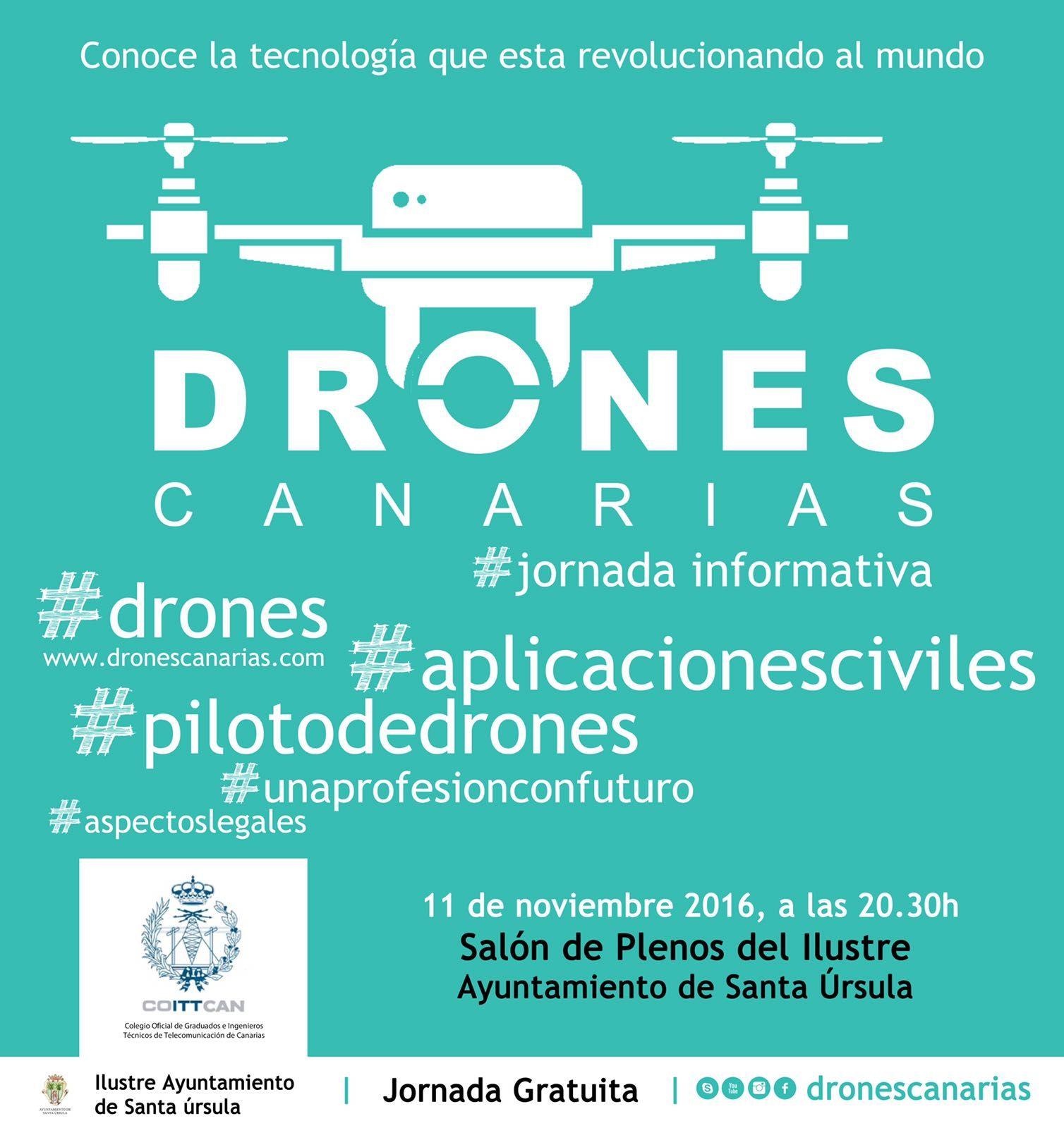Charla los Drones en Santa Úrsula