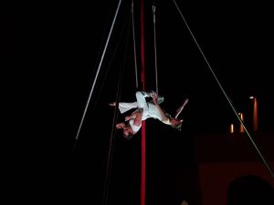 'Fly on fire', de Sinakt en Santa Úrsula