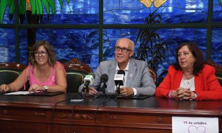 El Ayuntamiento renueva su compromiso con las personas que padecen cáncer de mama