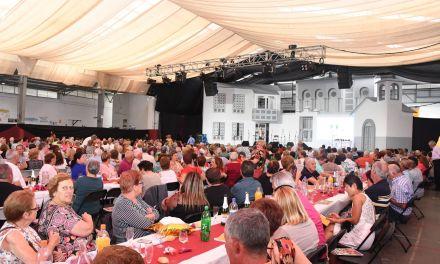 Multitudinario Encuentro de los mayores en Santa Úrsula